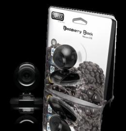 Sweex Blackberry black webcam USB