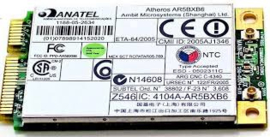 Atheros AR5BXB6 Mini-PCIe WiFi LAN 11abg