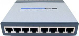Linksys sd2008 8 prt 10/100/1000 switch
