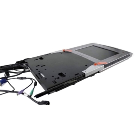 "15"" Server monitor Dell PowerEdge 1U 15FP KMM Rack Console"