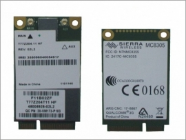 Sierra Wireless MC8305 WWAN umts module