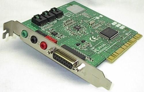 Creative Labs Sound Blaster CT5803 PCI Sound Card