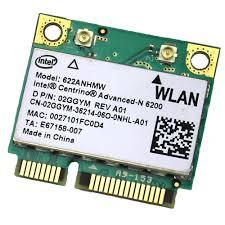 Intel 622anhmw half mini pci-e card