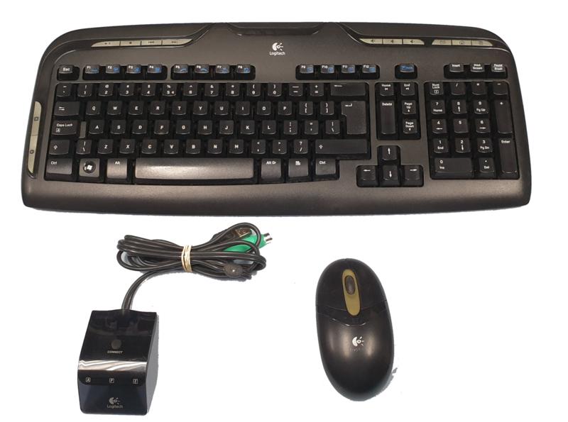 Logitech Cordless Desktop EX 110 (Qwerty NL)