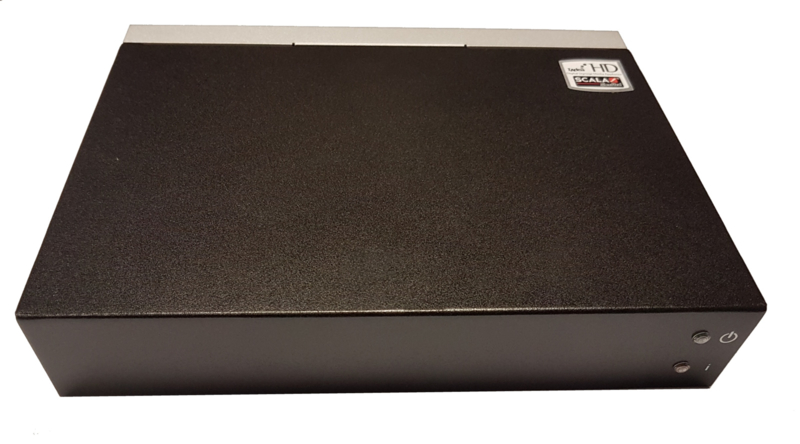 XMP -300 Full -HD Open Standard Digital Signage Media Player / narrowcasting