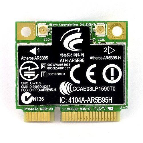 Atheros AR5B95H  150Mbps Wireless half Mini PCI-e Adapter