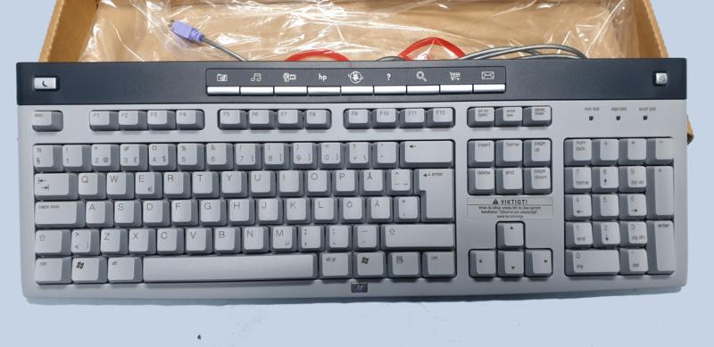 HP keyboard PS2 (Finnisch layout) PS2