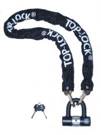 Kettingslot Top Lock ART 3 Los Hangslot / Ketting  120 CM