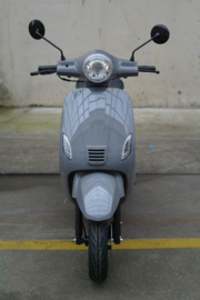 Napoli  private label  ( Vespa look  euro 4 ) Nardo Grey