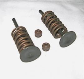 Cillinder kop inclusief kleppen Quads 260 cc