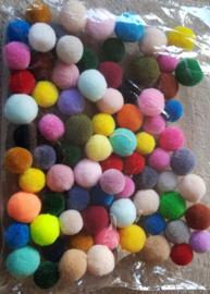 Gekleurde geurbolletjes