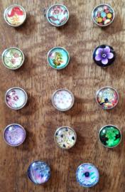 Drukknopen bloemen