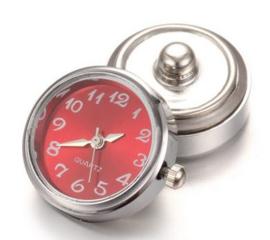 horloge drukknop rood