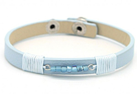 Lichtblauwe armband