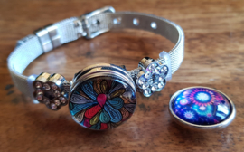 Armband zilver staal