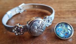 Armband zilverkleur