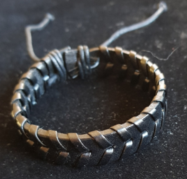 Leren armband