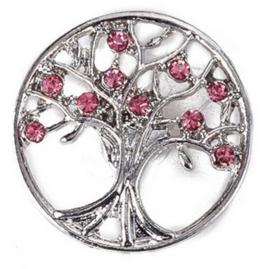Drukknop levensboom rose