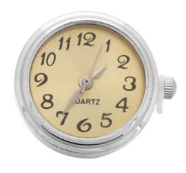 Horloge drukknop