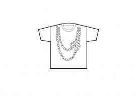 "Tshirt ""Necklace Girl"""
