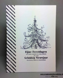 HP Stempel 79e, Kerstboom swirls