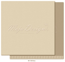 Maja Design * Monochromes shades of celebration * Old brass *