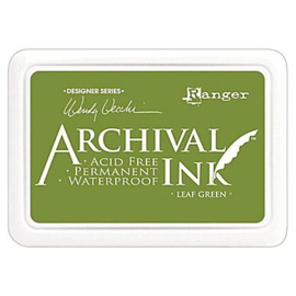 Archival Ink, Leaf Green
