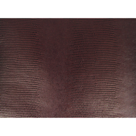 """Boekbind """"linnen"""" lizard structuur bruin 50 x 68 cm"""