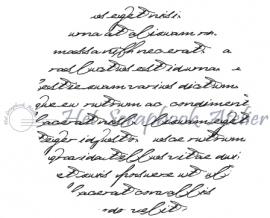 HP Stempel 68f, Cirkel, script, 3 cm