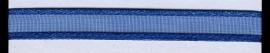 Organza lint col.175 blauw 7mm x 1m