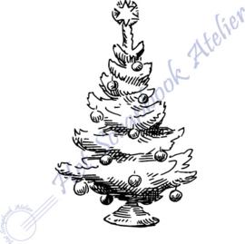HP Stempel 100a, Kerstboom mini