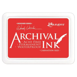 Archival Ink, Carnation Red