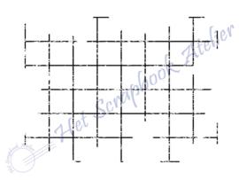 HP Stempel 27j, achtergrond raster