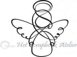 HP Stempel 29r Engel klein