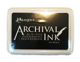 Archival ink, Jet Black