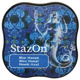 Stazon- Midi-Blue Hawaii