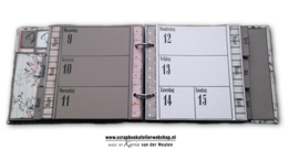 HP Stempel 38e Agenda lay-out