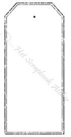 HP Stempel 51k , Tag dubbele lijn oud maxi