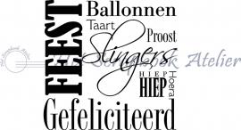 HP Stempel 57e Feest, Ballonnen.....