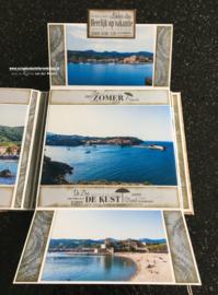 Collioure Uitvouw Album19,5 x 20,5 cm