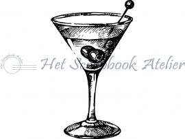 HP Stempel 52d Cocktailglas