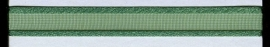 Organza lint col.021 kerstgroen 10mm x 1m