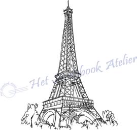 HP Stempel 107a3, Eiffeltoren