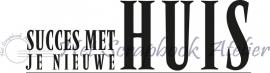 HP Stempel 22a4 Huis rechthoek