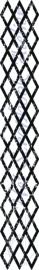 HP Stempel 71f, ruitjes border