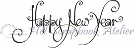 HP Stempel 29u Happy New Year