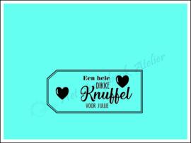 HP Stempel 113f1, Dikke knuffel voor jullie
