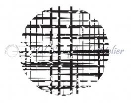 HP Stempel 68e, Cirkel, raster, 4,5 cm