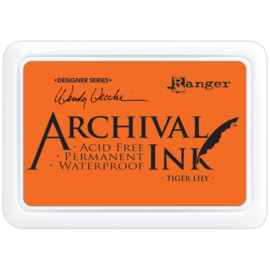 Archival Ink, Tiger Lily