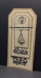 HP Stempel 51r, 4 Eyeletstempels Kerst
